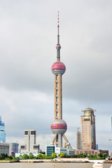 China Shanghai pudong the Pearl Tower