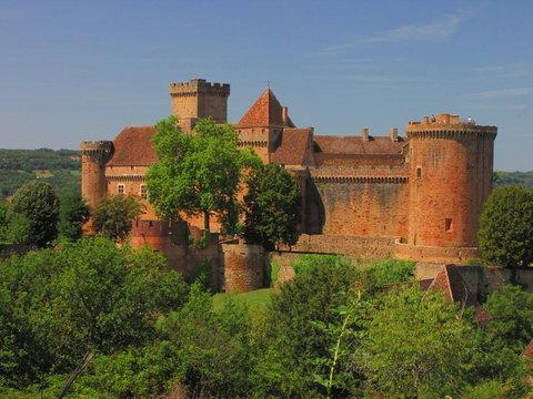 Château de Castelnau-Bretenoux ; Corrèze Lot ; Limousin Périgord