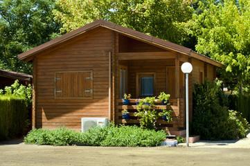 Fototapeta Wooden bungalow obraz