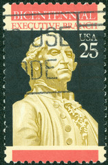 200th anniversary of the Constitution, shows George Washington