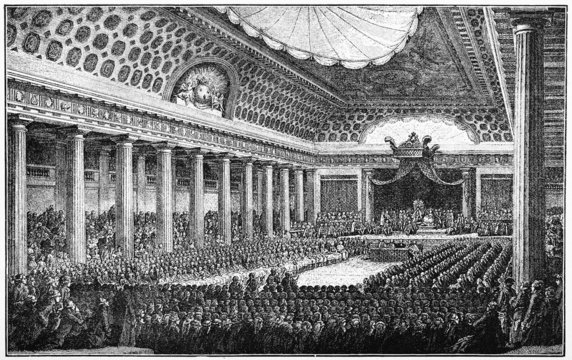 The French States General were constituted in 1789