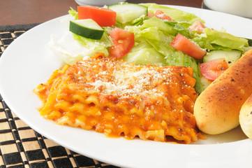 Lasagna closeup