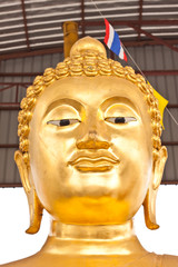 Face of Buddha image in Thailand