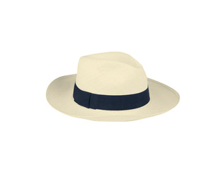 Summer panama straw hat