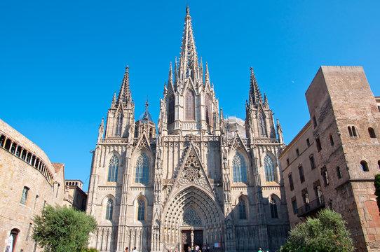 Barcelona Cathedral, Saint Eulalia.
