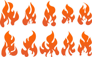 Collection of fires.