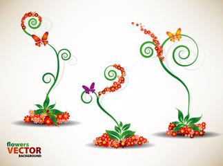 Floral beautiful