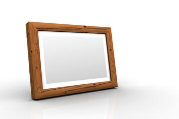3D Holz-Bilderrahmen - Fichte Alt