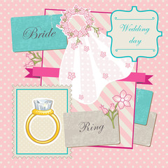 Fashion Bride scrap template