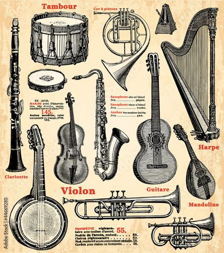Instruments de musique fichier vectoriel libre de droits sur la banque d 39 images - Photo d instrument de musique ...