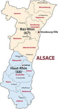 Region Alsace, Elsass