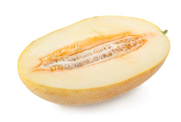 Cantaloupe isolated