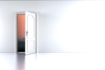 Tür zum Sonnenuntergang