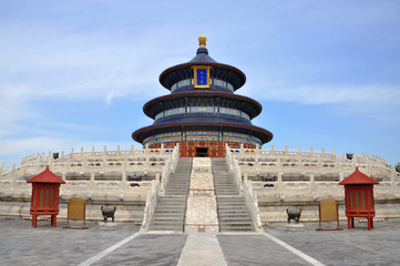 Temple of Heaven,Hall of Prayer for Good Harvests,Beijing,China