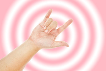 Love hand sign