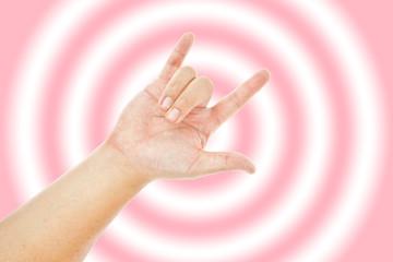 Love hand sign