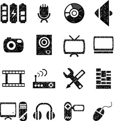 Web icons and multimedia