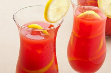 Chilled Orange Lemon Sangria