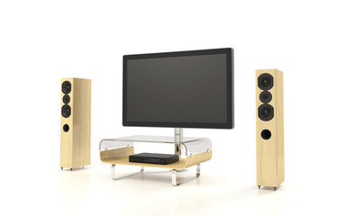 Isolated Home Theater