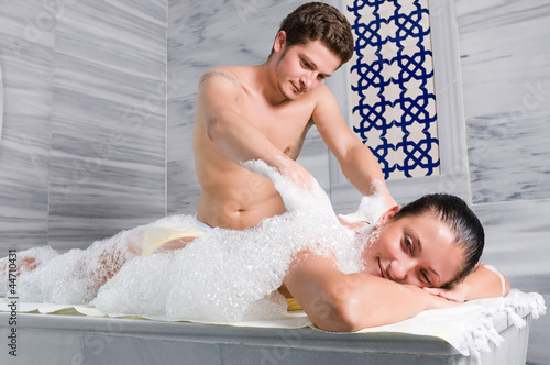 Hot model with big, sexy ass takes bath with male and massages him № 722585 загрузить