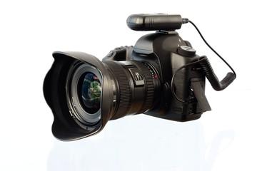 Digitale Spiegelreflexkamera mit Funkauslöser