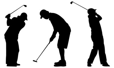 Golf_silhouettes 1