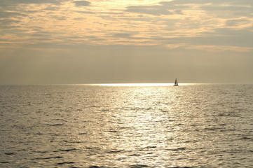 Sailing Brinze Sea