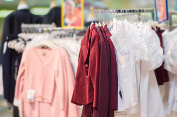 Jackets, blouses and sweaters in kids mall