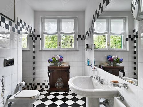 Bagno Moderno Bianco E Nero.Bagno Moderno In Bianco E Nero Immagini E Fotografie Royalty Free