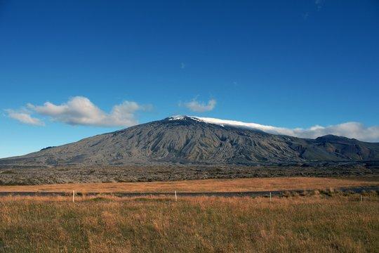 Snaefellsjökull Vulkan