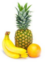 Banana pineapple grapefruit