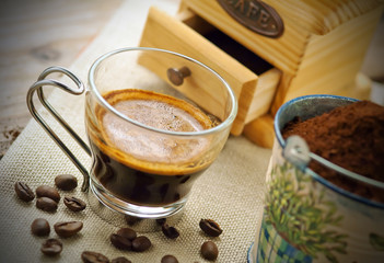 Caffè italiano - Italian coffee