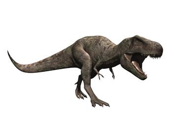 Tyrannosaure gueule ouverte
