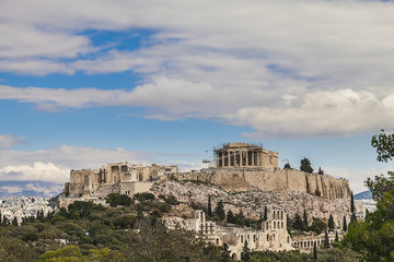 Wall Mural - Acropolis and Parthenon, Greece