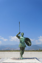 Statue of Alexander the Great in Greece