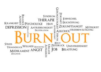 Burn Out Tagcloud Suchbegriffe