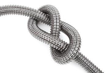 vacuum cleaner pipe knot