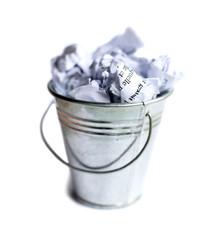 corbeille poubelle papier