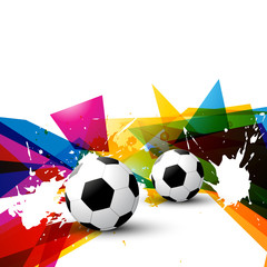 vector colorful football