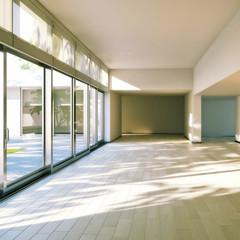 Modern designed flat