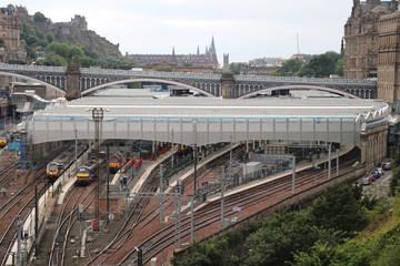 Railway station Edinburgh