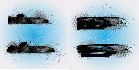Grunge Vector Banners