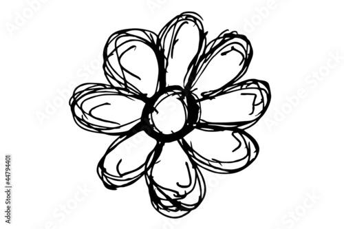 Blume Silhouette Stockfotos Und Lizenzfreie Bilder Auf