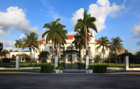 Henry M Flagler Museum in West Palm Beach, Florida