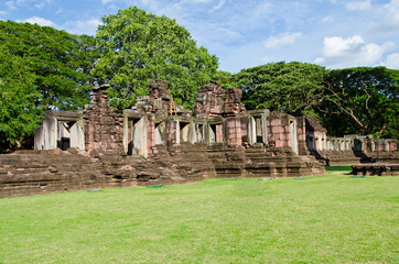 Ancient Wall of Phimai Historical Park