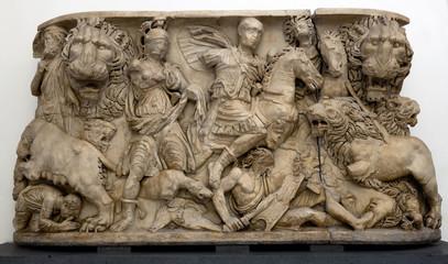Anceint Roman sarcophagus