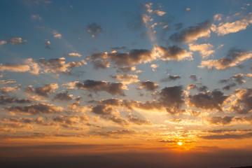 Sunrise at Nan, North of Thailand