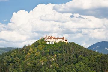 Wall Mural - Rasnov fortress ruins , Transylvania, Romania.