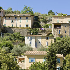 French Village, hilltop town in Provence. France.