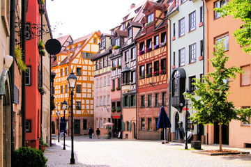 Wall Mural - Half-timbered houses of the Old Town, Nuremberg